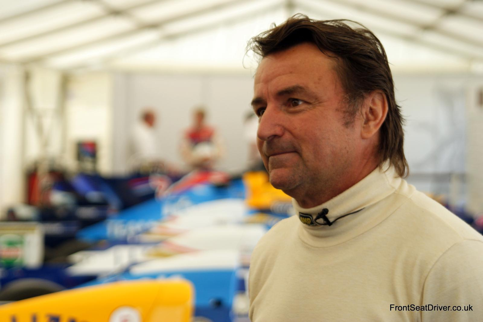 Goodwood Fos 2011 Rene Arnoux Front Seat Driver