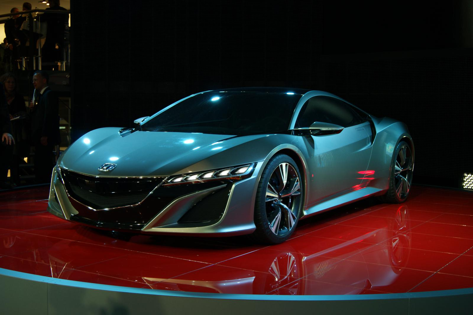 Geneva 2012 Honda NSX Concept - Front Seat Driver