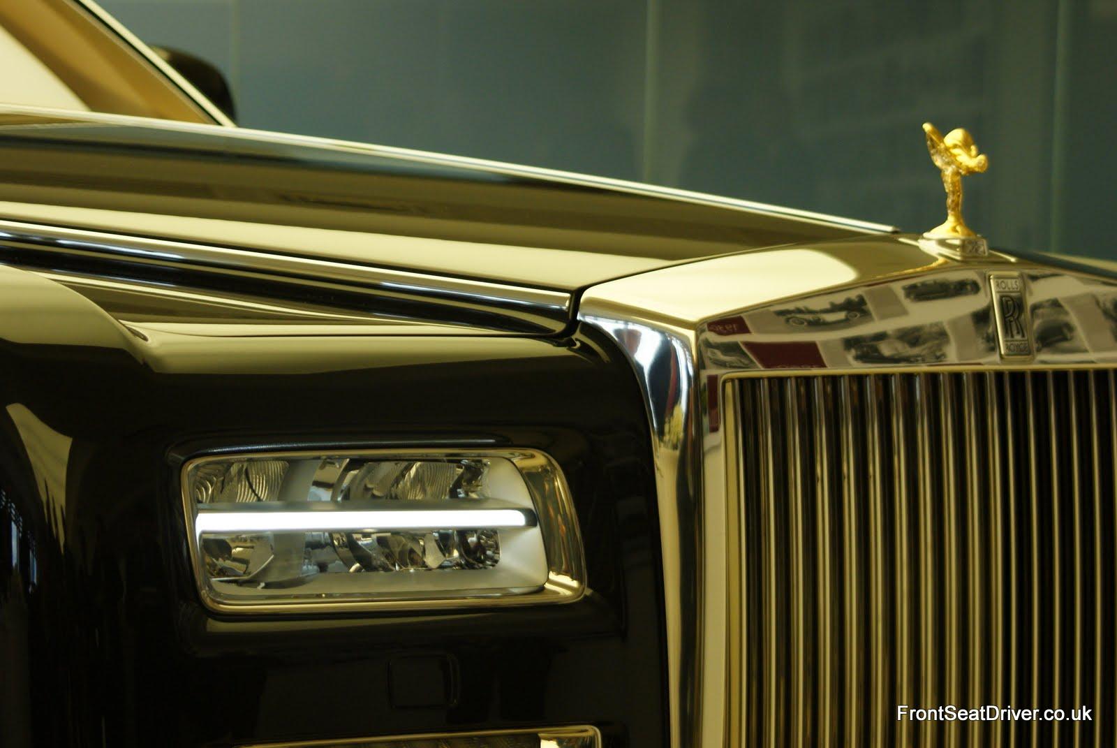 Rolls Royce Phantom Series 2 2012 Grille And Led Headlight