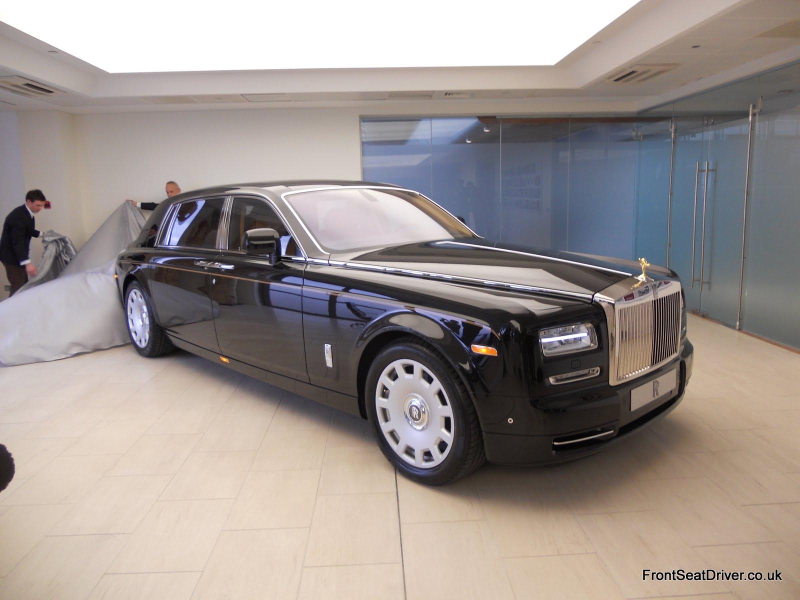 Rolls Royce Phantom Series 2 2012 Revealed Front Seat Driver