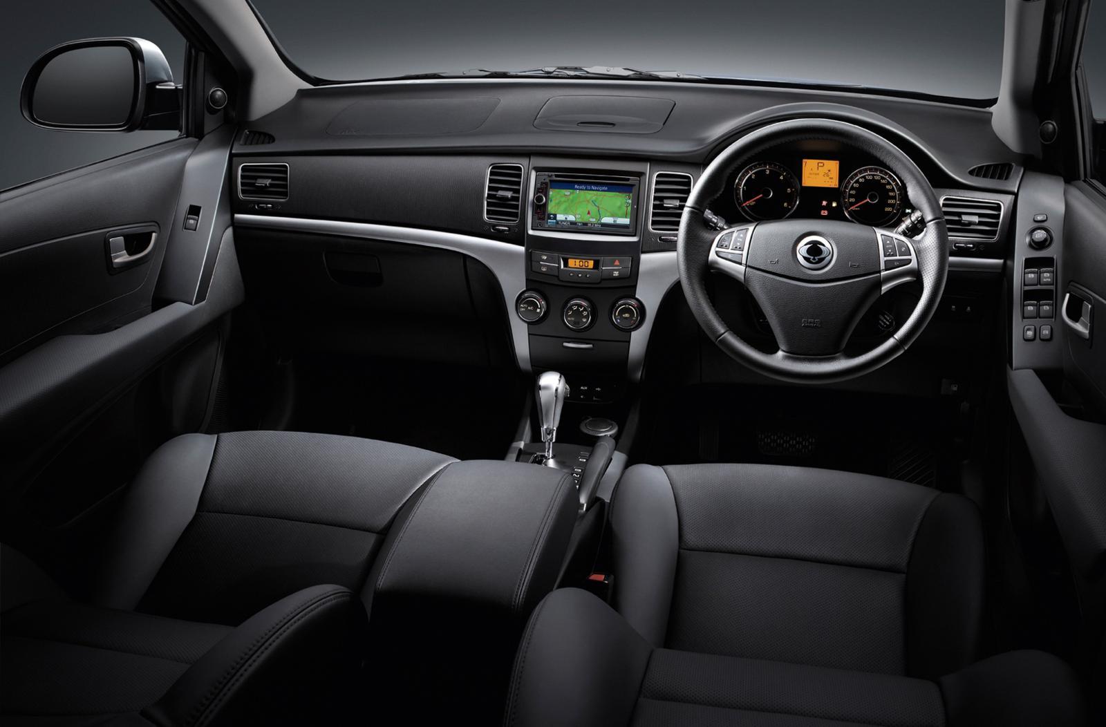Ssangyong Korando 2012 Interior Front Seat Driver