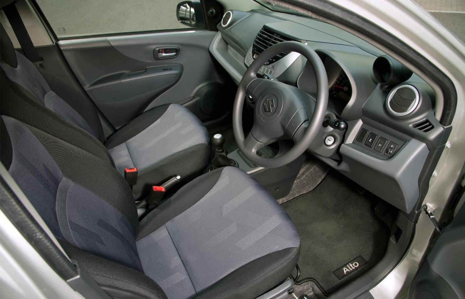 Suzuki Alto 2012 Interior Front Seat Driver