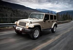 SMMT Test Day Drives 2012 Jeep Wrangler