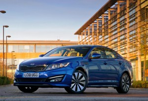 SMMT Test Day Drives 2012 Kia Optima