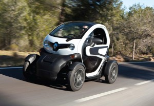 SMMT Test Day Drives 2012 Renault Twizy