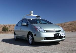 Google Self Driving Car 2010 Front