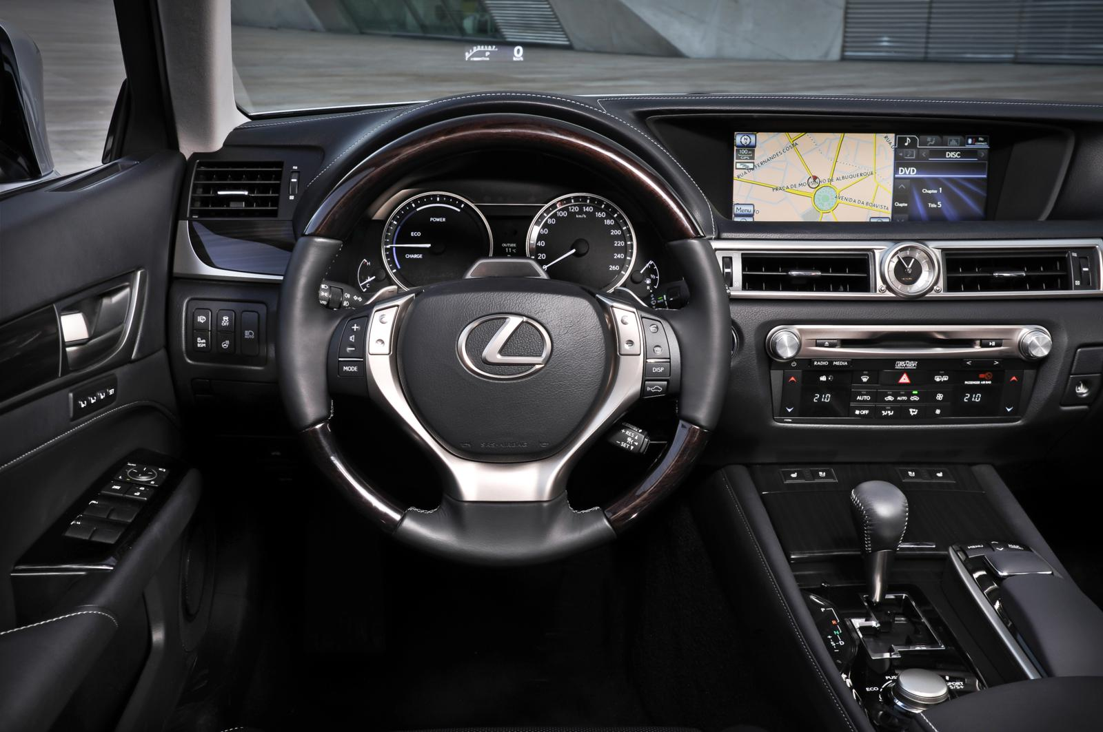 Lexus Gs 450h 2012 Dashboard Front Seat Driver