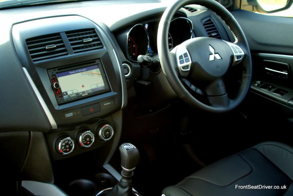 Mitsubishi Asx 2012 Interior Front Seat Driver