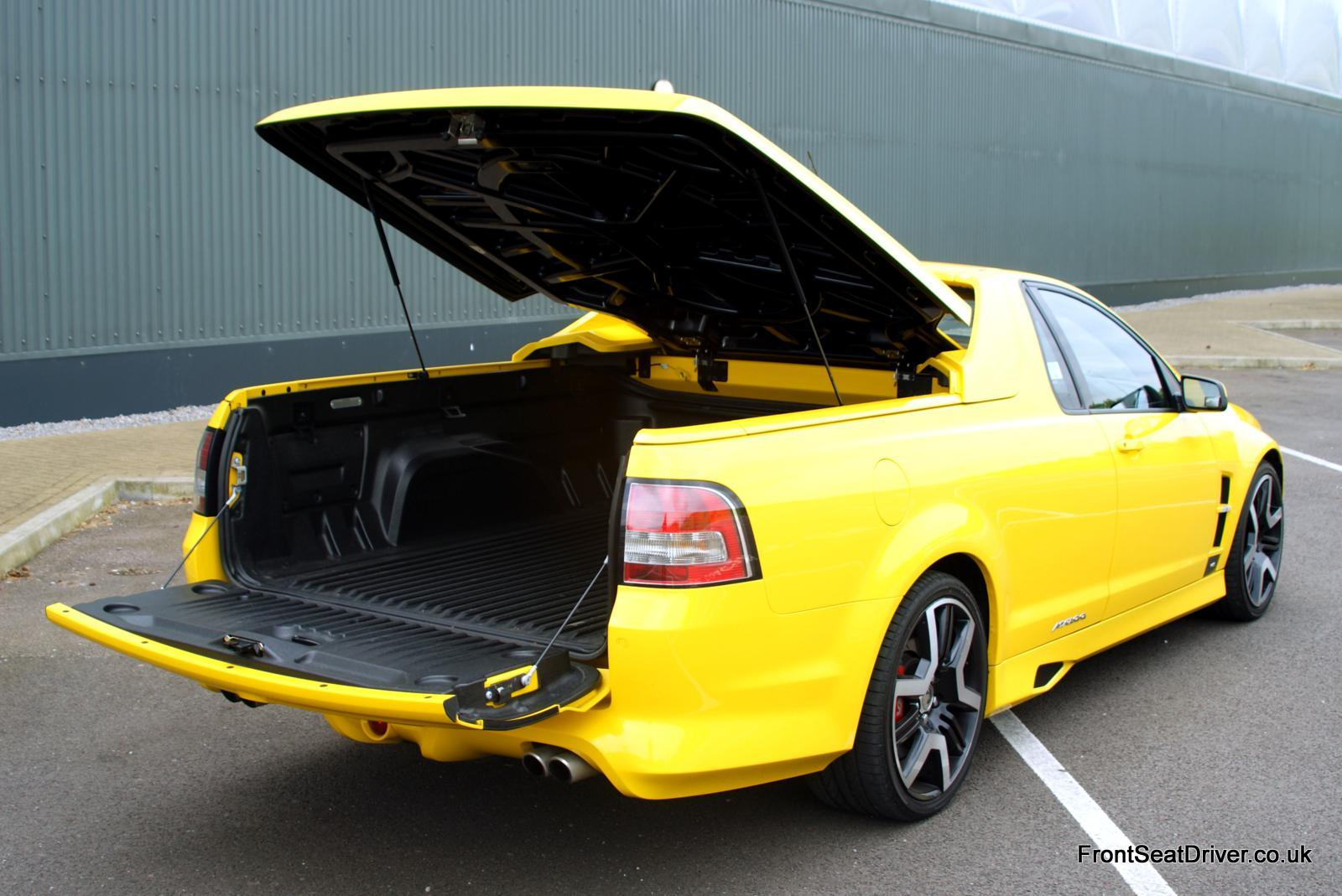 Vauxhall Maloo Vxr8 2012 Boot Front Seat Driver
