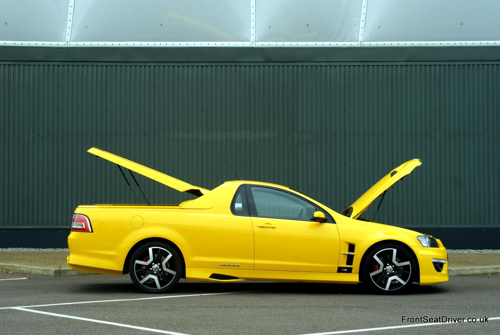 Vauxhall Maloo Vxr8 2012 Doors Open Front Seat Driver