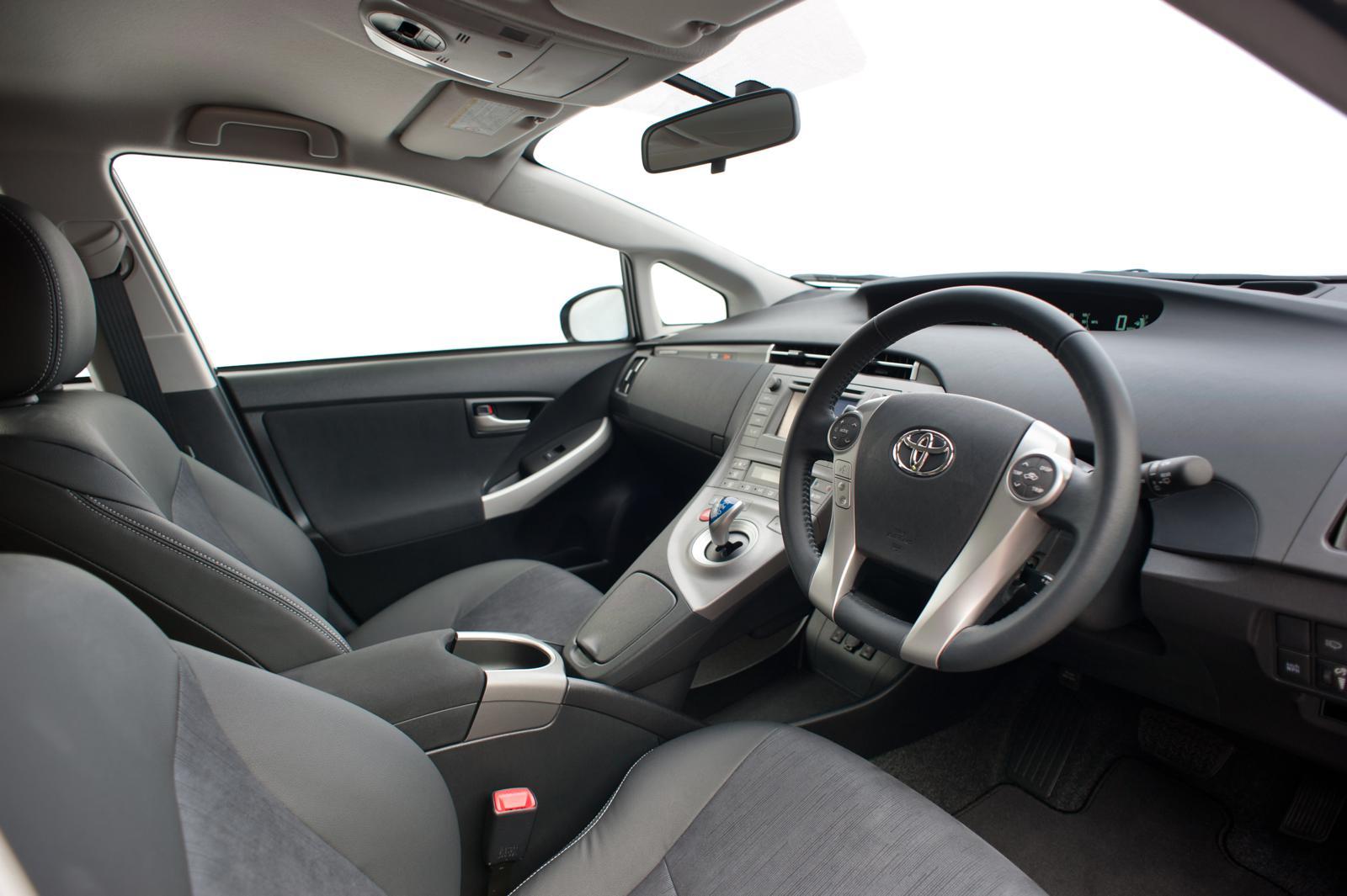 Toyota Prius Plug In 2012 Interior Front Seat Driver