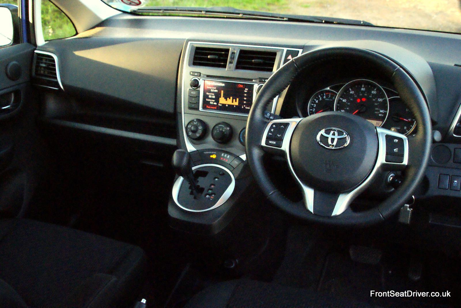 Toyota Verso S 2012 Interior Front Seat Driver