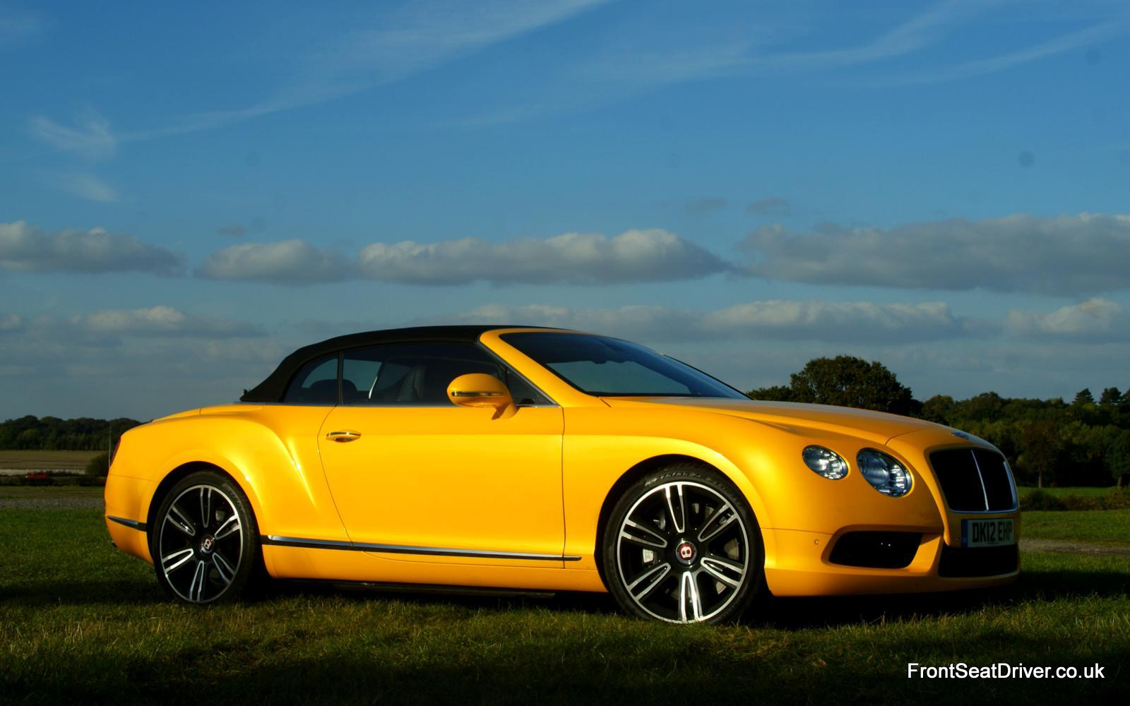 bentley continental gt v8 convertible 2012 front roof up. Black Bedroom Furniture Sets. Home Design Ideas