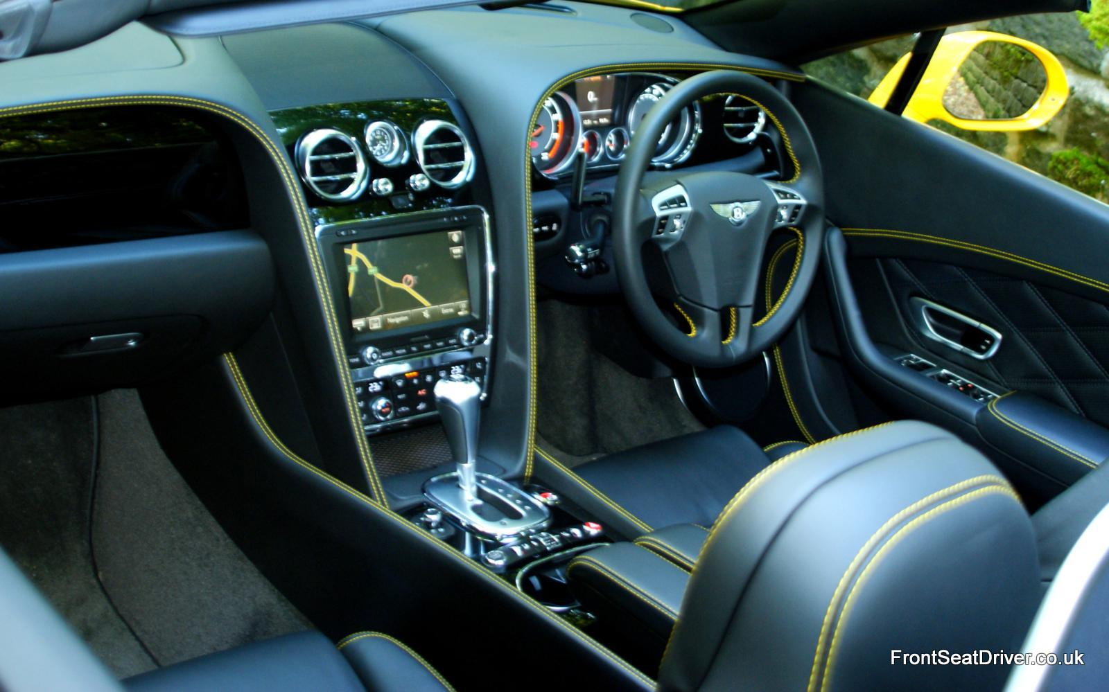 Bentley Continental Gt V8 Convertible 2012 Interior