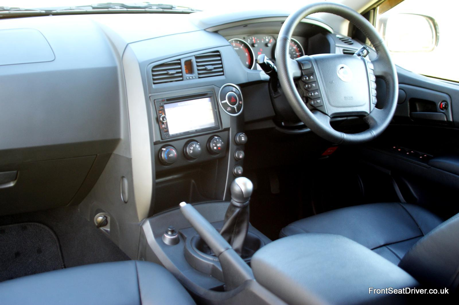 Ssangyong Korando Sports 2012 Interior Front Seat Driver