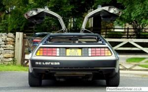 Dales Dash 2012 DeLorean Doors Open