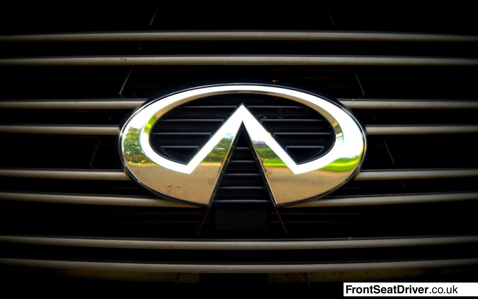 Infiniti M35h 2012 Grille Emblem Front Seat Driver