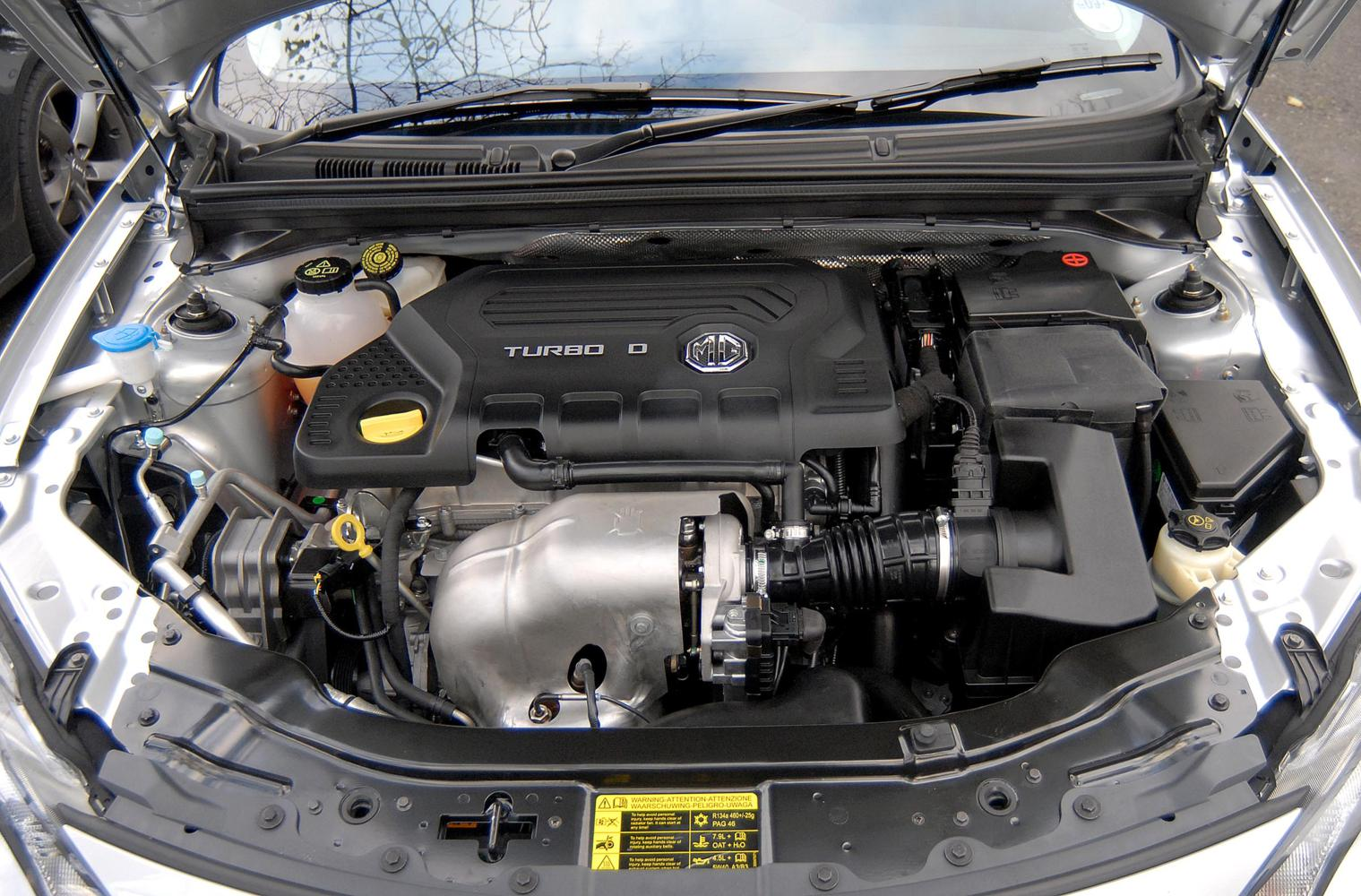 Mg6 Diesel 2012 Dti Tech Engine Front Seat Driver