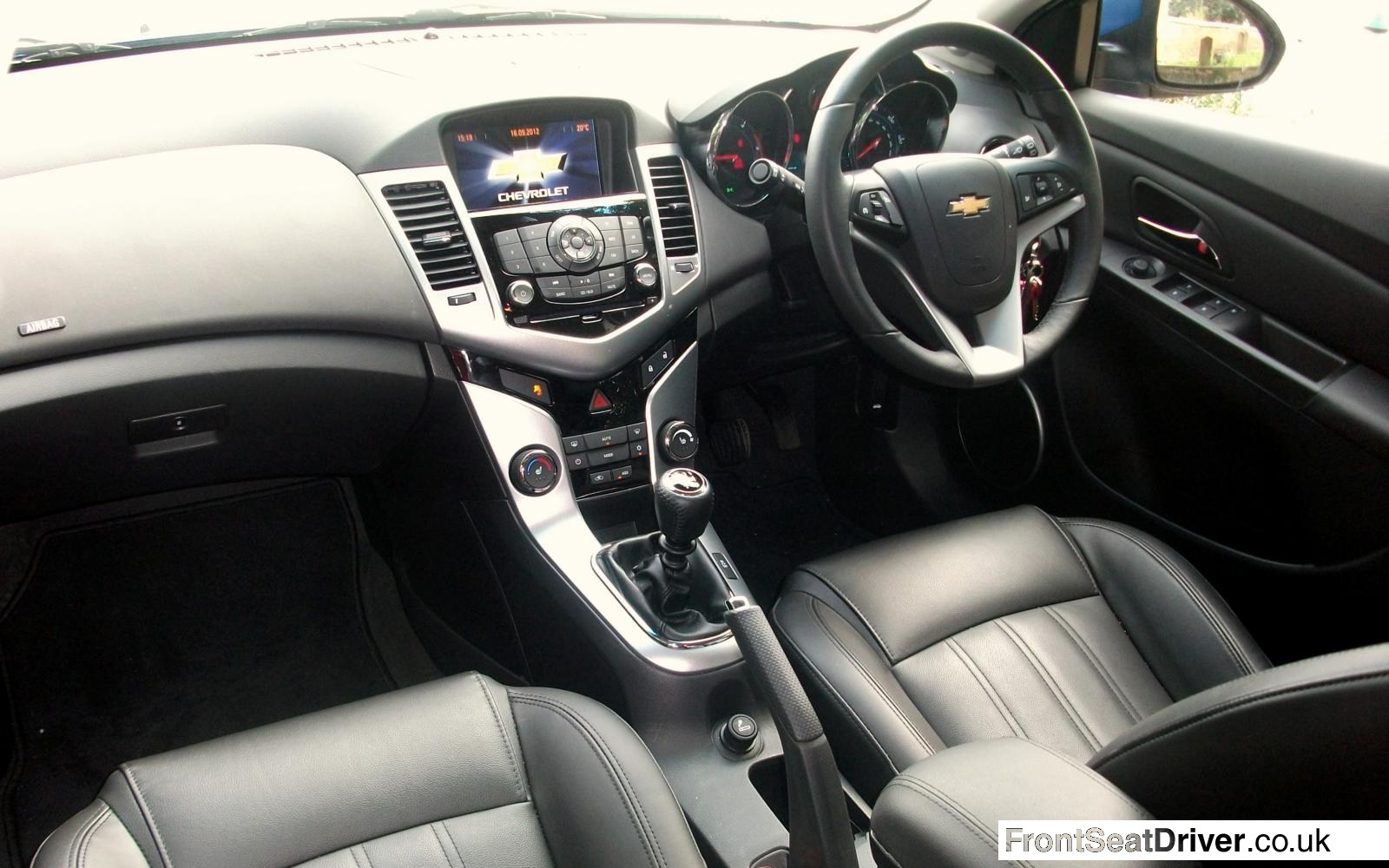 Chevrolet Cruze Ltz Executive 2012 Interior Front Seat