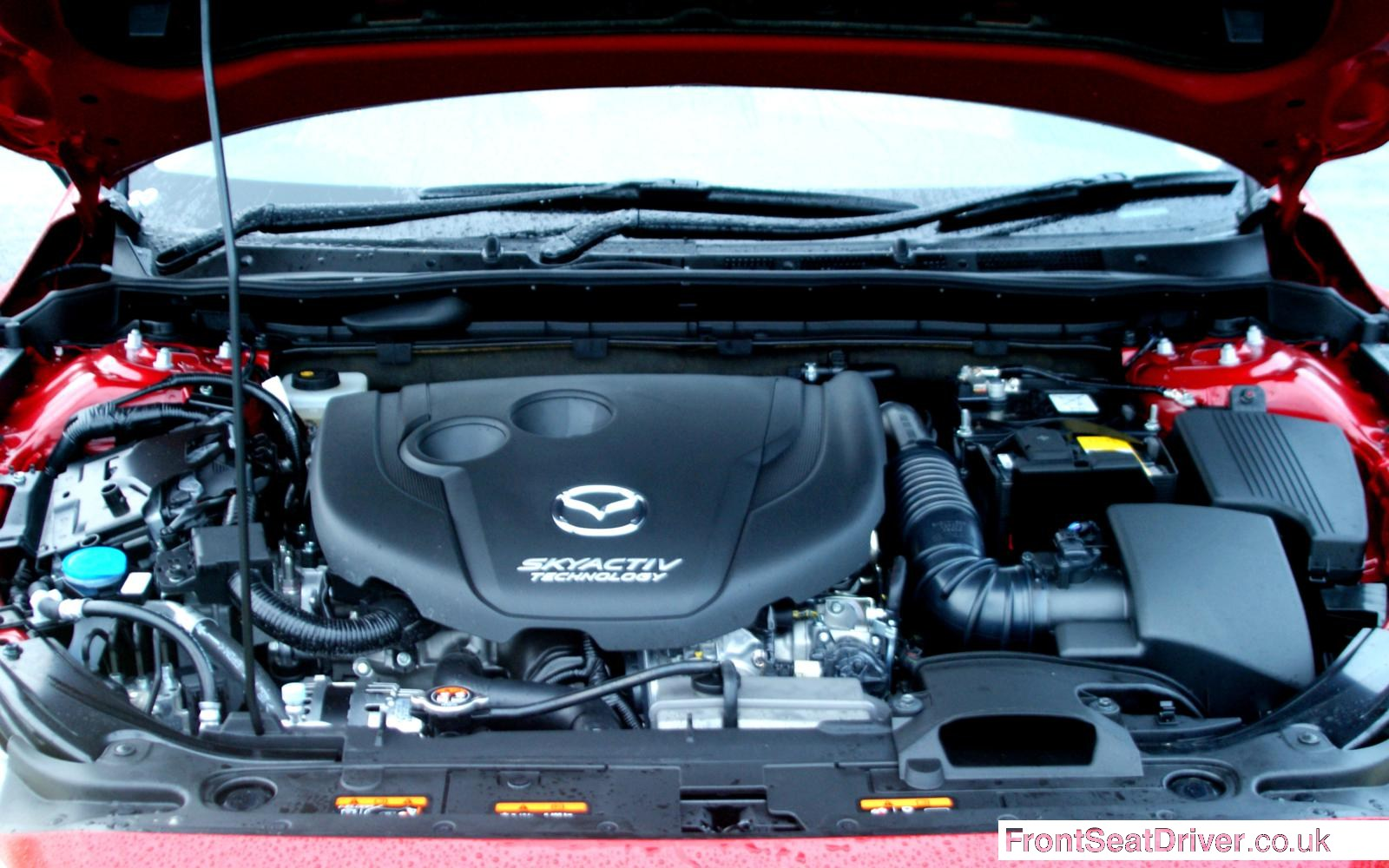 Mazda 6 2013 Engine Bay Front Seat Driver