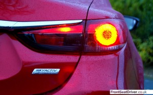 Mazda 6 2013 Rear Light Detail
