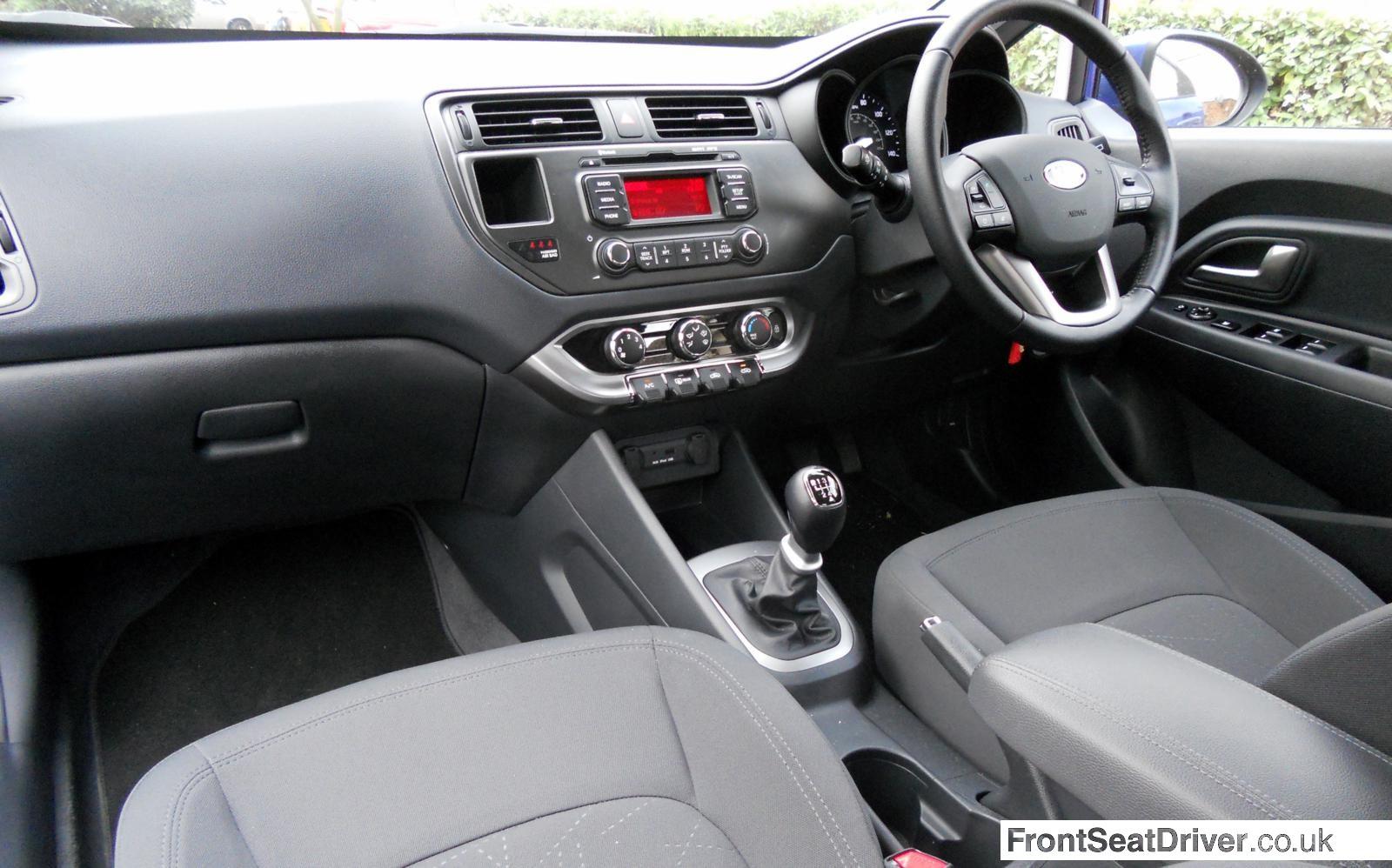 Kia Rio 1 1 Crdi 2013 Interior Front Seat Driver