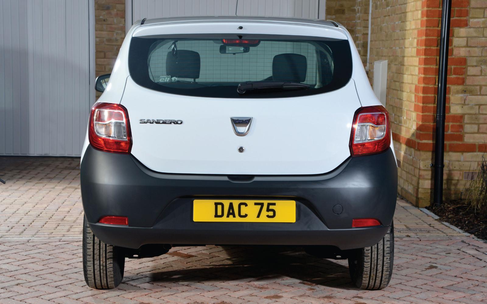 Dacia Sandero Access 2013 Rear Front Seat Driver