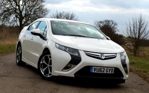Vauxhall Ampera 2013 Front End #lifewithampera