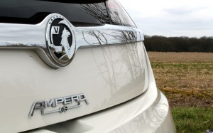 Vauxhall Ampera 2013 Rear Detail #lifewithampera
