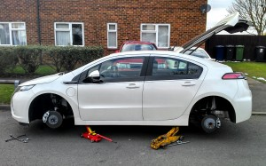 Vauxhall Ampera 2013 Tyre Replacement #lifewithampera