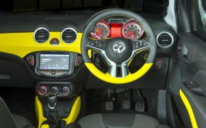 Vauxhall Adam 2013 Dashboard