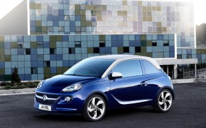 Vauxhall Adam 2013 Pump Up the Blue Front Left