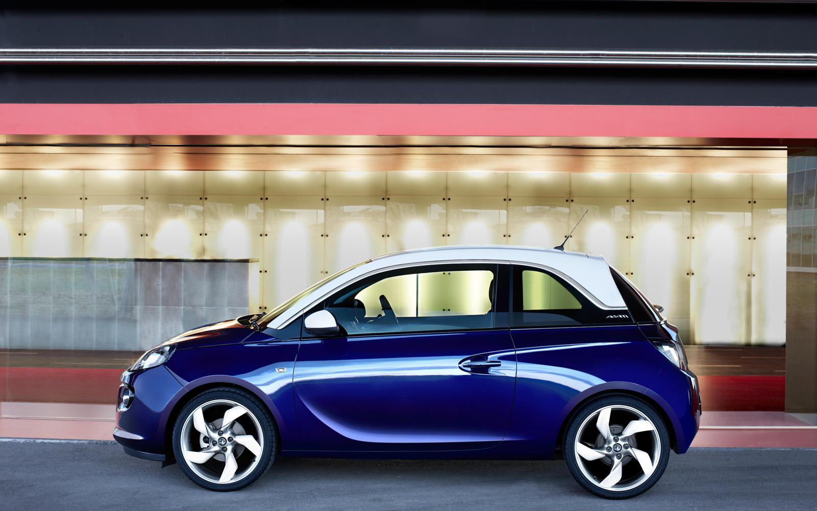 Vauxhall Adam 2013 Pump Up The Blue Profile Front Seat