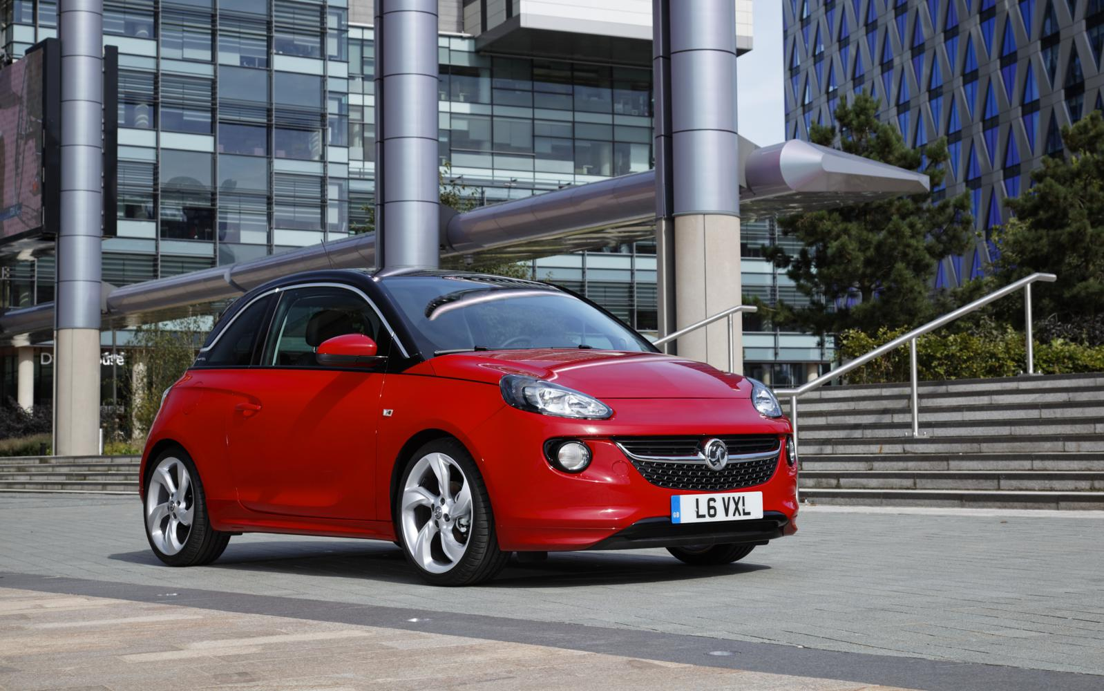 Vauxhall Adam 2013 Red N Roll Front Right Front Seat Driver