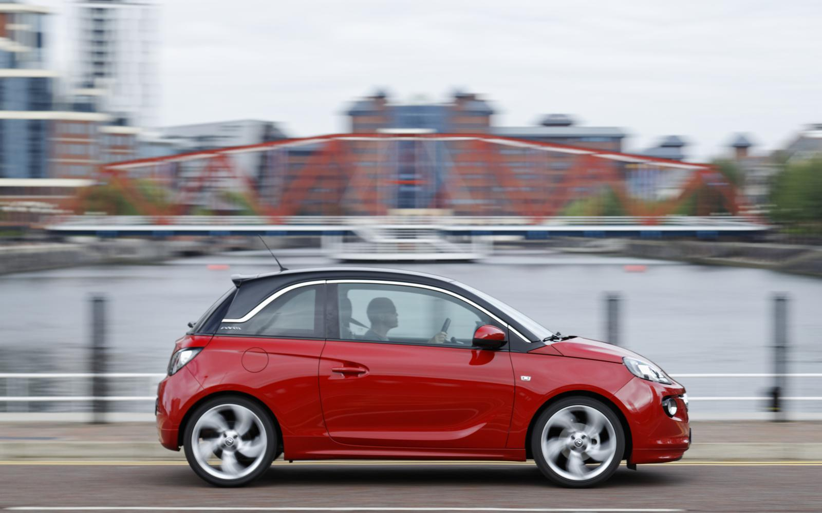 Vauxhall Adam 2013 Red N Roll Profile Front Seat Driver