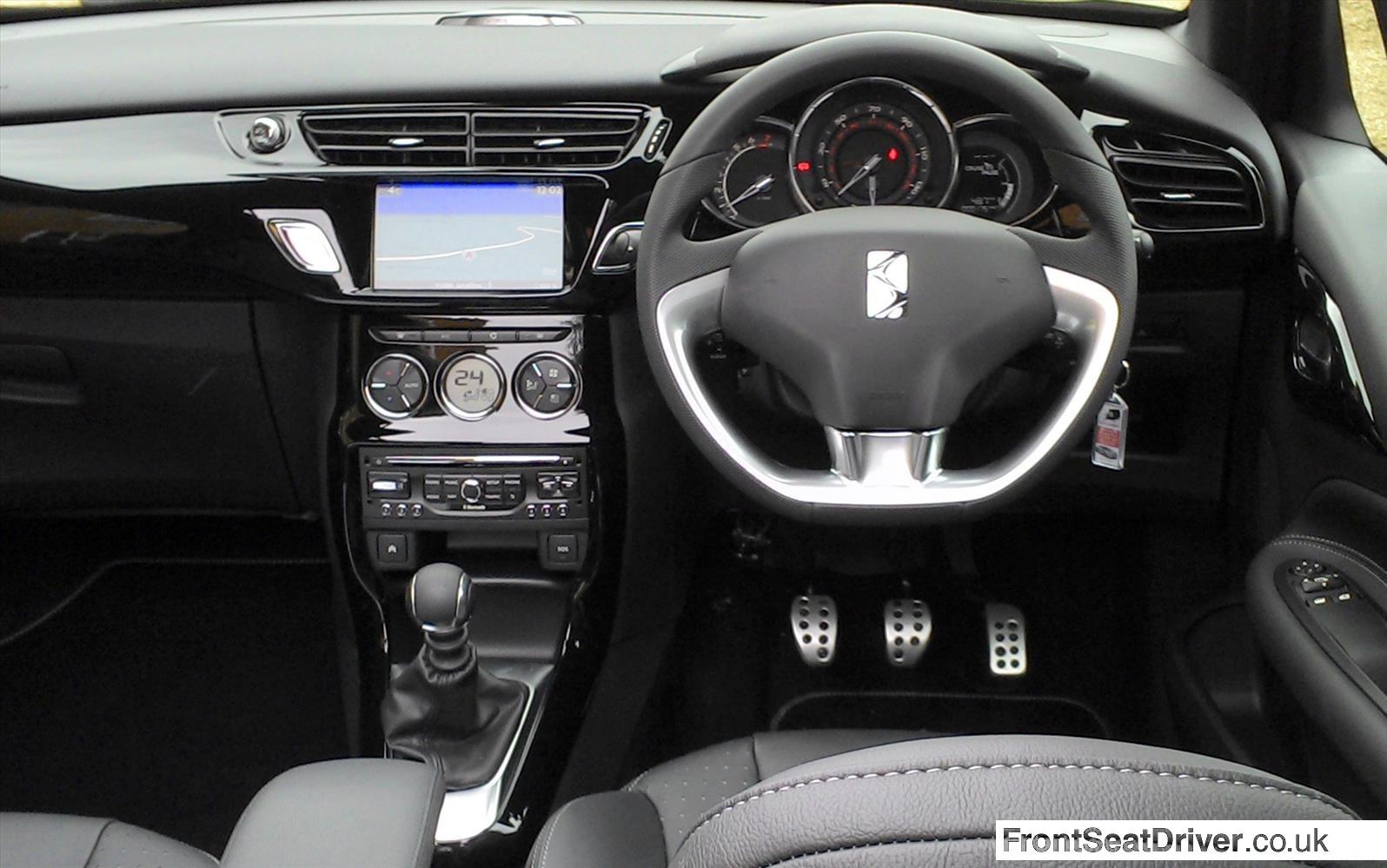 Citroen Ds3 Cabrio 2013 Dashboard Front Seat Driver