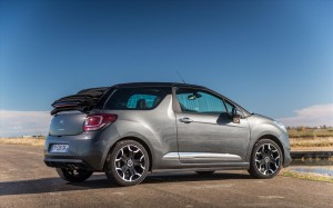Citroen DS3 Cabrio 2013 Right Rear Open
