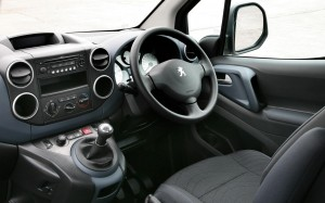 Peugeot Partner Tepee 2013 Interior – Front Seat Driver
