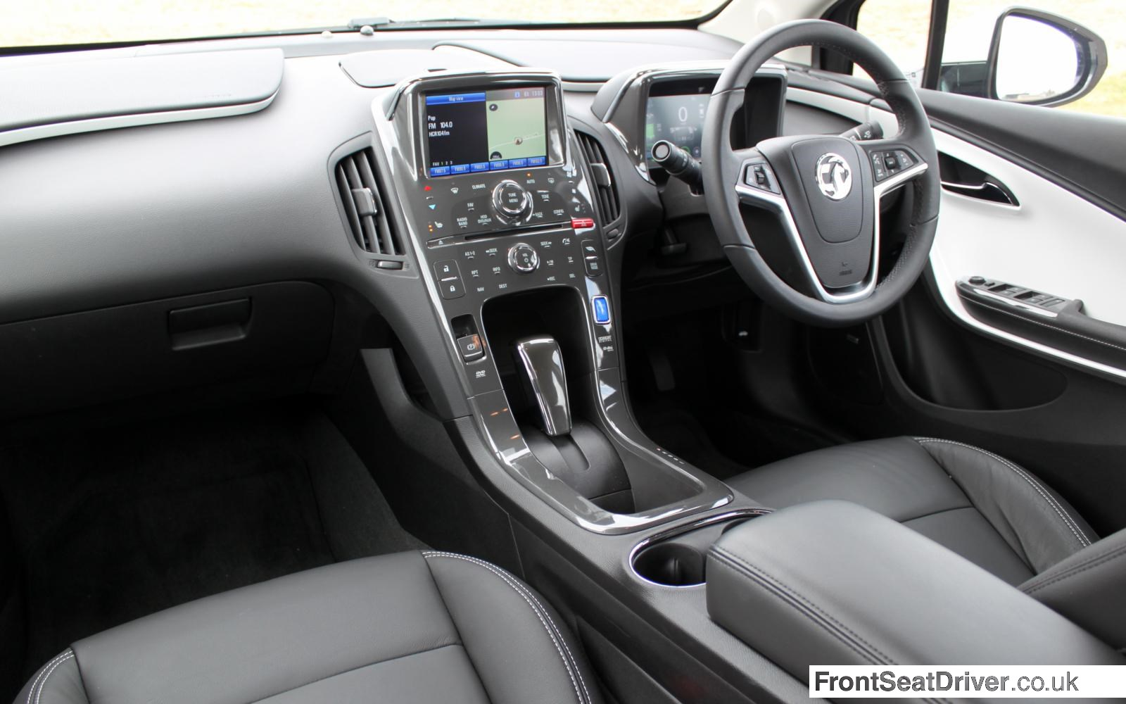 Vauxhall Ampera 2013 Interior Front Seat Driver