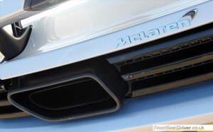 McLaren MP4-12C 2013 Exhaust Detail