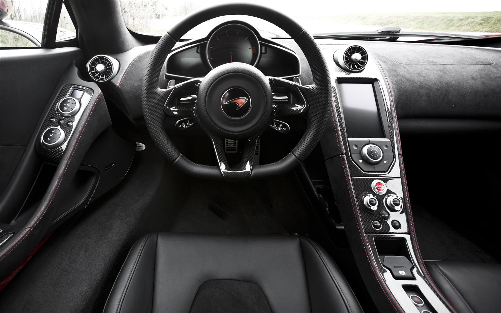 mclaren mp4 12c 2013 interior front seat driver. Black Bedroom Furniture Sets. Home Design Ideas