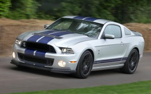 Ford Shelby GT500 Mustang 2012 Front Left