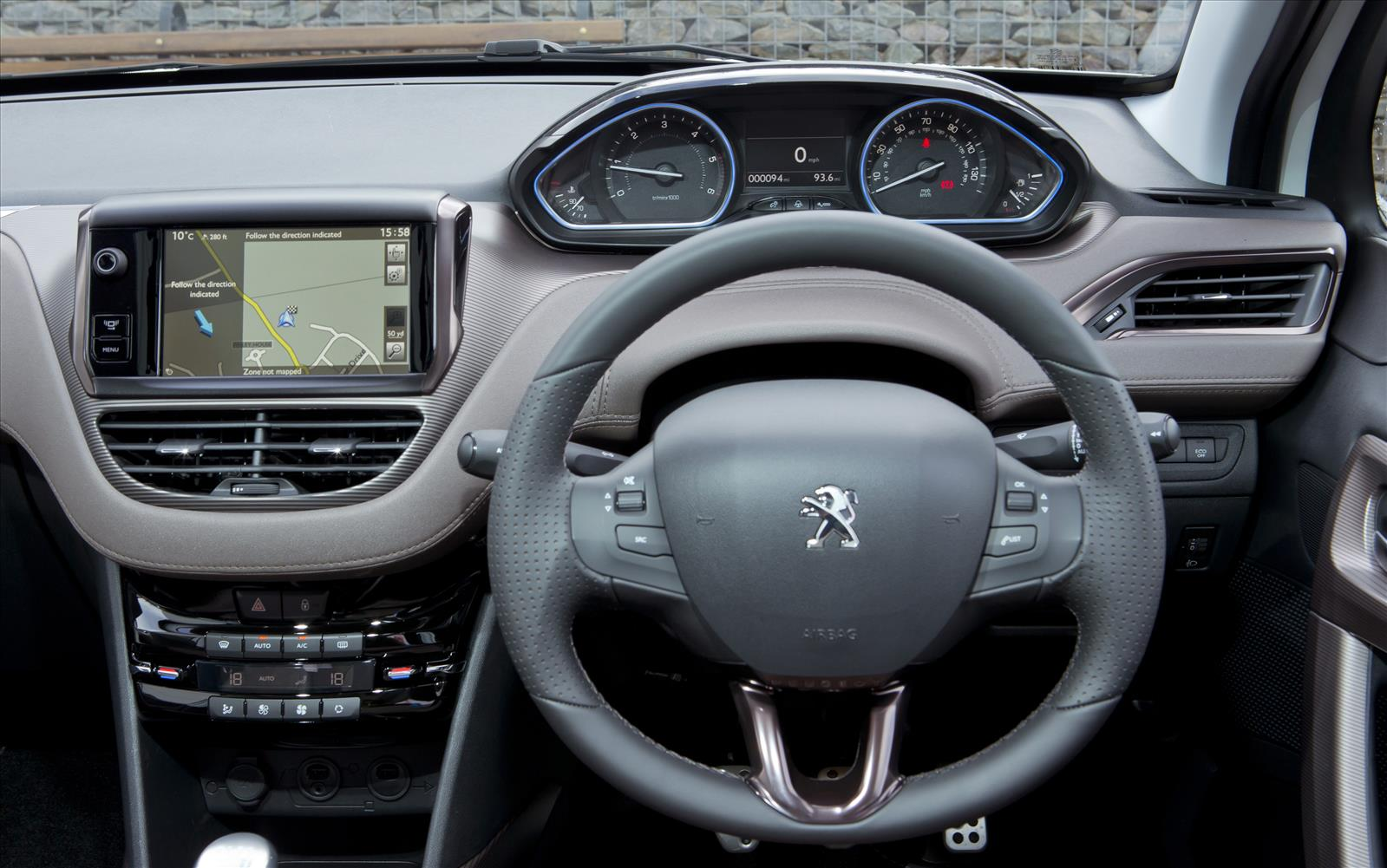 Peugeot 2008 2013 Instrument Panel