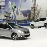 Peugeot 2008 2013 Pair on Snow