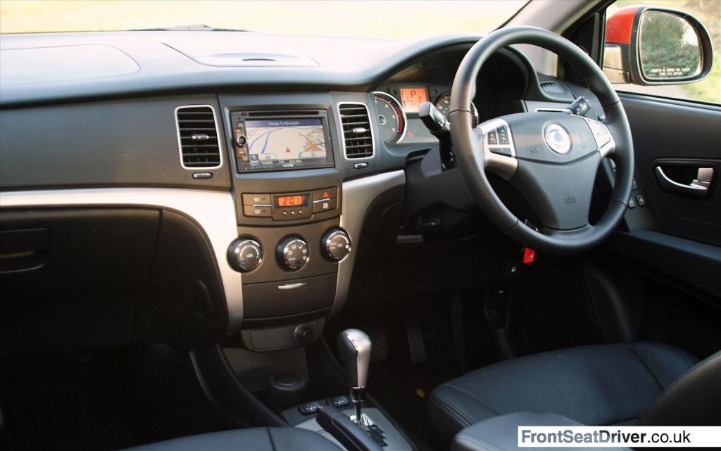 Ssangyong Korando 2013 Interior Front Seat Driver