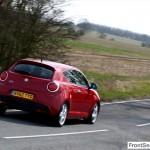 Alfa Romeo MiTo 2013 Cornering