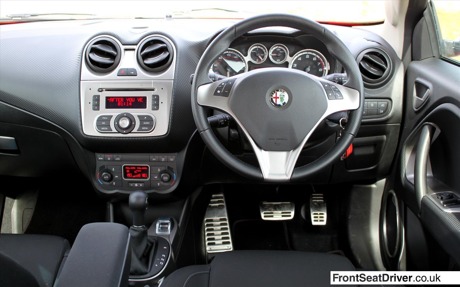 Alfa Romeo Mito 2013 Dashboard Front Seat Driver