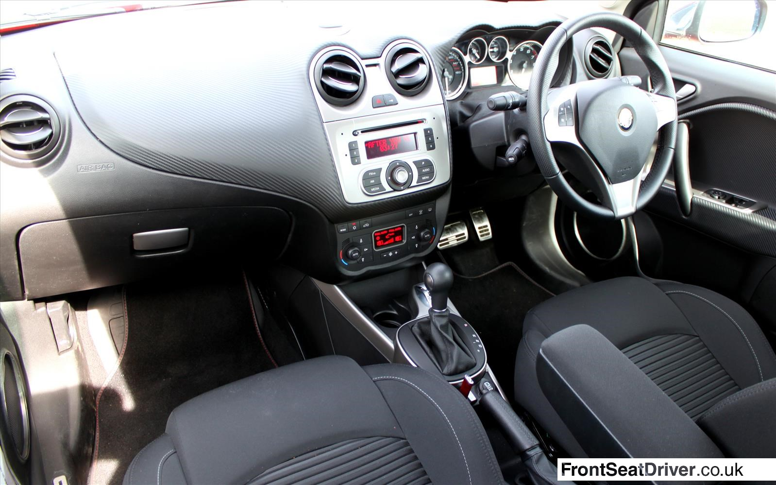 alfa romeo mito 2013 interior front seat driver. Black Bedroom Furniture Sets. Home Design Ideas
