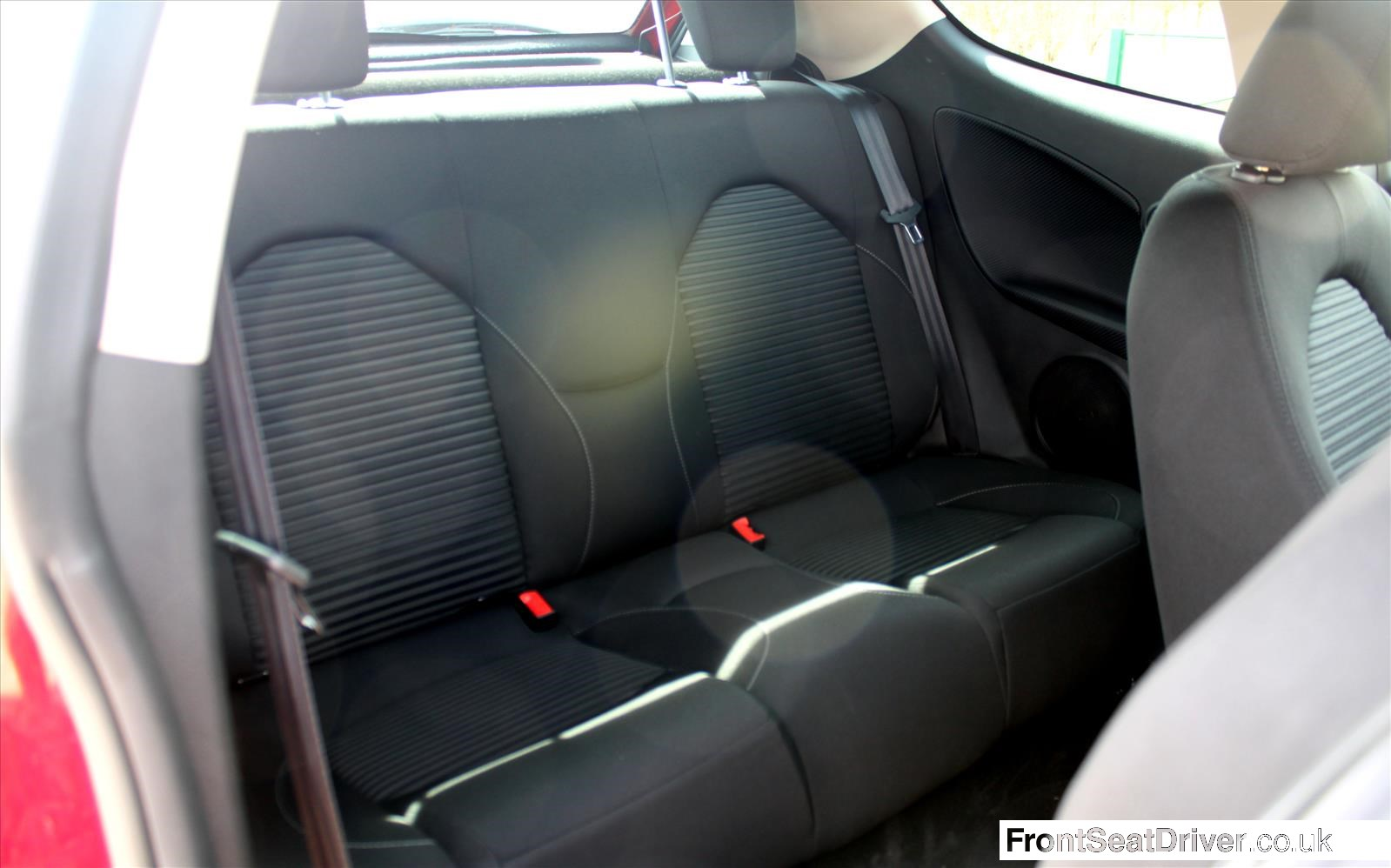 Alfa Romeo MiTo 2013 Rear Seats