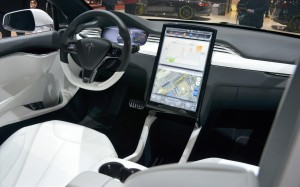 Tesla Model X 2013 Interior